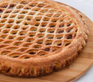 Пирог с клубникой и киви, 1кг.