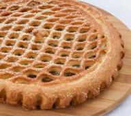 Пирог с яблоком и вишней, 1 кг.