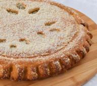 Пирог с заварным кремом, 1кг.