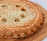 Пирог с творогом, 1кг.