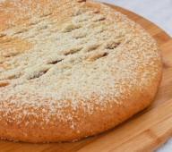 Пирог осетинский с финиками и инжиром, 900 гр.