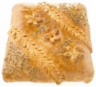 Пирог сдобный с курицей