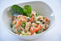Лапша с морепродуктами