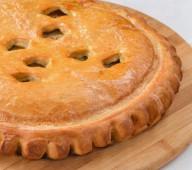 Пирог с мясом и капустой, 1кг.