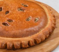 Пирог с горбушей, 1 кг.