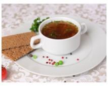 Суп из свинины с пекинской капустой