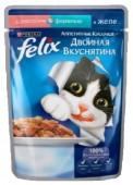 Корм для взр-х кошек FELIX Двойная вкуснятина д/к лосось-форель