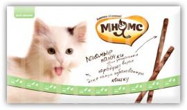 Лакомые палочки для кошек говядина, печень