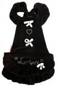 Велюровое платье Рюша для собак