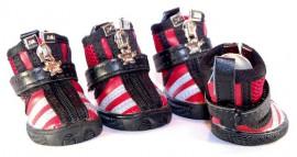 Ботиночки для собаки XB0907-red