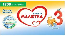 Молочная смесь Малютка Малютка 3 с 12 месяцев, 1200 г, 1 шт.