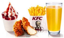Детский обед кусок курицы + сок 0,2 л.