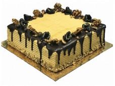 Торт Пинчер с черносливом и грец. орехом